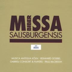 Biber: Missa Salisburgensis - Musica Antiqua Köln,Reinhard Goebel,Gabrieli Players,Paul McCreesh,Gabrieli Consort