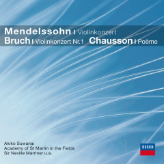 Mendelssohn, Bruch: Violinkonzerte (CC) - Akiko Suwanai,Academy of St. Martin in the Fields,Sir Neville Marriner