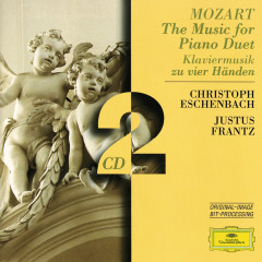 Mozart: The Music for Piano Duet - Justus Frantz,Christoph Eschenbach