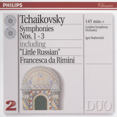 Tchaikovsky: Symphonies Nos.1-3 - London Symphony Orchestra,New Philharmonia Orchestra,Igor Markevitch