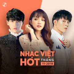 Nhạc Việt Hot Tháng 11/2018