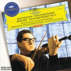 Beethoven: Violin Concerto / Mozart: Violin Concerto No.5 - Wolfgang Schneiderhan,Berliner Philharmoniker,Eugen Jochum