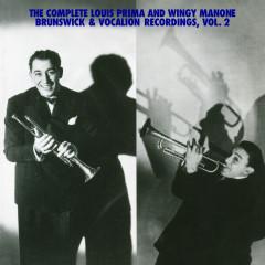 The Complete Louis Prima And Wingy Manone Brunswick & Vocation Recordings, Vol 2