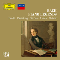 Bach 333: Piano Legends - Various Artists