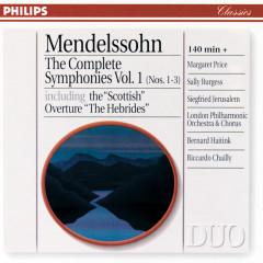 Mendelssohn: The Complete Symphonies Vol. 1 - London Philharmonic Orchestra,Bernard Haitink,Riccardo Chailly