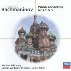 Rachmaninov: Piano Concertos Nos.1 & 3 - Vladimir Ashkenazy,London Symphony Orchestra,André Previn