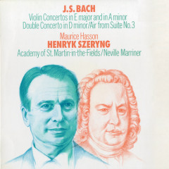 Bach, J.S.: Violin Concerto Nos. 1 & 2; Concerto for 2 Violins