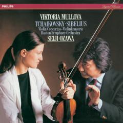 Tchaikovsky & Sibelius Violin Concertos - Viktoria Mullova,Boston Symphony Orchestra,Seiji Ozawa