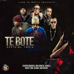 Te Boté (Remix) - Nio Garcia, Casper Magico, Bad Bunny