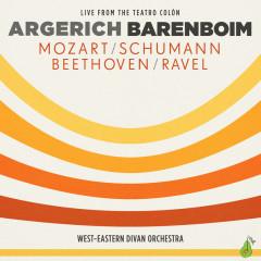 Argerich - Barenboim - Mozart, Schumann, Beethoven, Ravel - Martha Argerich,Daniel Barenboim,West-Eastern Divan Orchestra