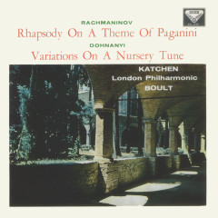 Rachmaninov: Piano Concerto No. 2; Rhapsody on a Theme of Paganini / Dohnányi: Variations on a Nursery Song - Julius Katchen,London Philharmonic Orchestra,Sir Adrian Boult