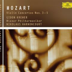 Mozart: Violin Concertos Nos. 3-5