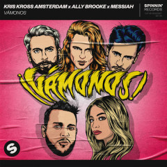 Vámonos (Single) - Kris Kross Amsterdam, Ally Brooke, Messiah