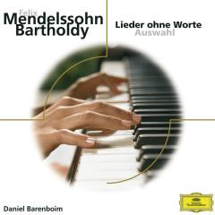 Mendelssohn: Lieder ohne Worte - Daniel Barenboim