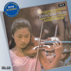 Tchaikovsky/Sibelius: Violin Concertos - Kyung Wha Chung,London Symphony Orchestra,André Previn