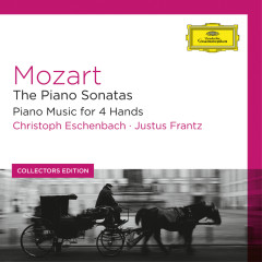 Mozart, W.A.: The Piano Sonatas; Piano Music For 4 Hands - Christoph Eschenbach,Justus Frantz