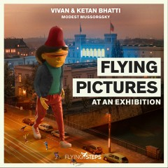 Flying Pictures at an Exhibition