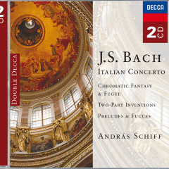 Bach: Solo Keyboard Works - András Schiff