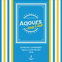 LOVELIVE! SUNSHINE!! Aqours CLUB CD SET 2018 - Aqours