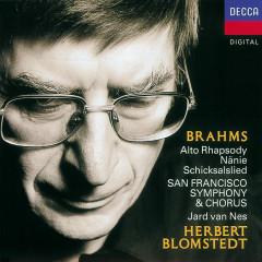 Brahms: Works for Chorus & Orchestra - Jard van Nes,San Francisco Symphony Chorus,San Francisco Symphony,Herbert Blomstedt