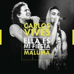 Ella Es Mi Fiesta (Remix) - Carlos Vives,Maluma