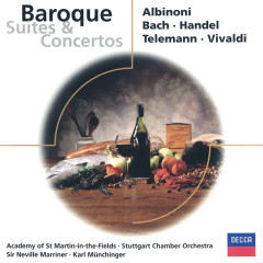 Baroque Suites & Concertos - Academy of St. Martin in the Fields,Sir Neville Marriner,Stuttgarter Kammerorchester,Karl Münchinger
