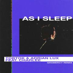 As I Sleep (Gramercy Remix) - Tobtok, Adrian Lux