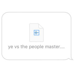 Ye vs. The People (Starring T.I. As The People) (Single)