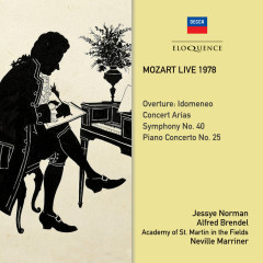 Mozart Live 1978 - Jessye Norman,Alfred Brendel,Academy of St. Martin in the Fields,Sir Neville Marriner
