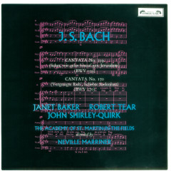 Bach, J.S.: Cantatas Nos. 159 & 170 - Dame Janet Baker,John Shirley-Quirk,Academy of St. Martin in the Fields,Sir Neville Marriner