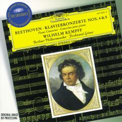 Beethoven: Piano Concertos Nos.4 & 5 - Wilhelm Kempff,Berliner Philharmoniker,Ferdinand Leitner