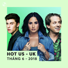 Nhạc US-UK Hot Tháng 06/2018 - Various Artists