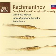 Rachmaninov: Complete Piano Concertos/Rhapsody on a Theme of Paganini - Vladimir Ashkenazy,London Symphony Orchestra,André Previn