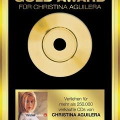 Gold Award: Christina Aguilera - Christina Aguilera