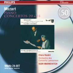 Mozart: Piano Concertos Nos.20 & 24 - Clara Haskil,Orchestre des Concerts Lamoureux,Igor Markevitch