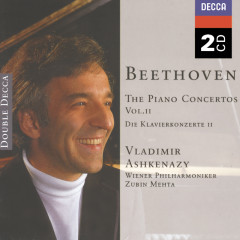 Beethoven:The Piano Concertos Vol.2 - Vladimir Ashkenazy,Wiener Philharmoniker,Zubin Mehta,The Cleveland Orchestra Chorus,The Cleveland Orchestra