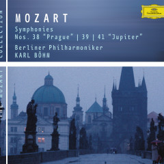 Mozart: Symphonies Nos. 38, 39 & 41
