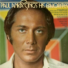 Sings His Favorites - Paul Anka