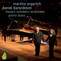 Mozart, Schubert & Stravinsky Piano Duos - Martha Argerich,Daniel Barenboim