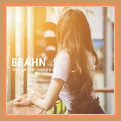 Honey, Thank You Very Much, I Really Love You (Single) - BBAhn