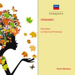 Stravinsky: Petruskha; The Rite of Spring - Pierre Monteux,L'Orchestre de la Socíeté des Concerts du Conservatoire de Paris,Julius Katchen