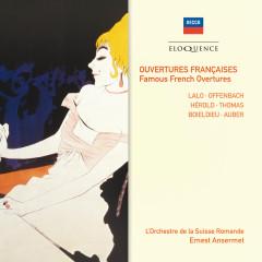 Ouvertures Françaises - Famous French Overtures - L'Orchestre de la Suisse Romande,Ernest Ansermet