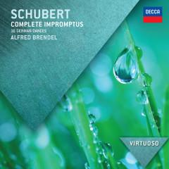 Schubert: Complete Impromptus; 16 German Dances - Alfred Brendel