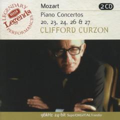 Mozart: Piano Concertos Nos.20,23,24,26 & 27 - Sir Clifford Curzon,English Chamber Orchestra,Benjamin Britten,London Symphony Orchestra,István Kertész