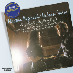 Rachmaninov: Suite No.2 for 2 Pianos etc - Martha Argerich,Nelson Freire