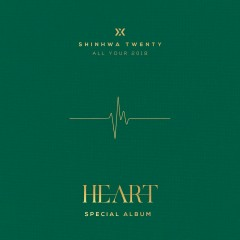 Shinhwa Twenty Special Album 'Heart' - Shinhwa