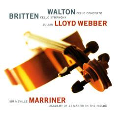 Britten: Cello Symphony / Walton: Cello Concerto - Julian Lloyd Webber,Academy of St. Martin in the Fields,Sir Neville Marriner