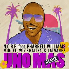 Uno Más - N.O.R.E.,Pharrell Williams,Wiz Khalifa,Miguel,J. Alvarez