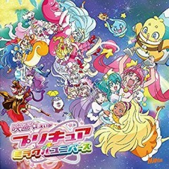 Eiga Precure Miracle Universe Theme Song Single