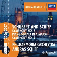 Schubert: Symphonies Nos.2 & 5 etc - András Schiff,Philharmonia Orchestra